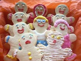 Galletas decoradas hombrecitos