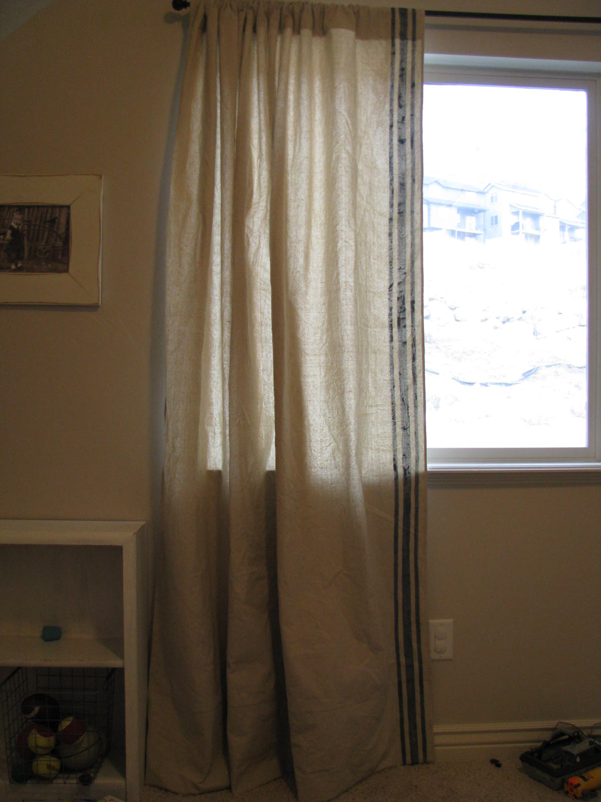 Playroom Curtain Rod