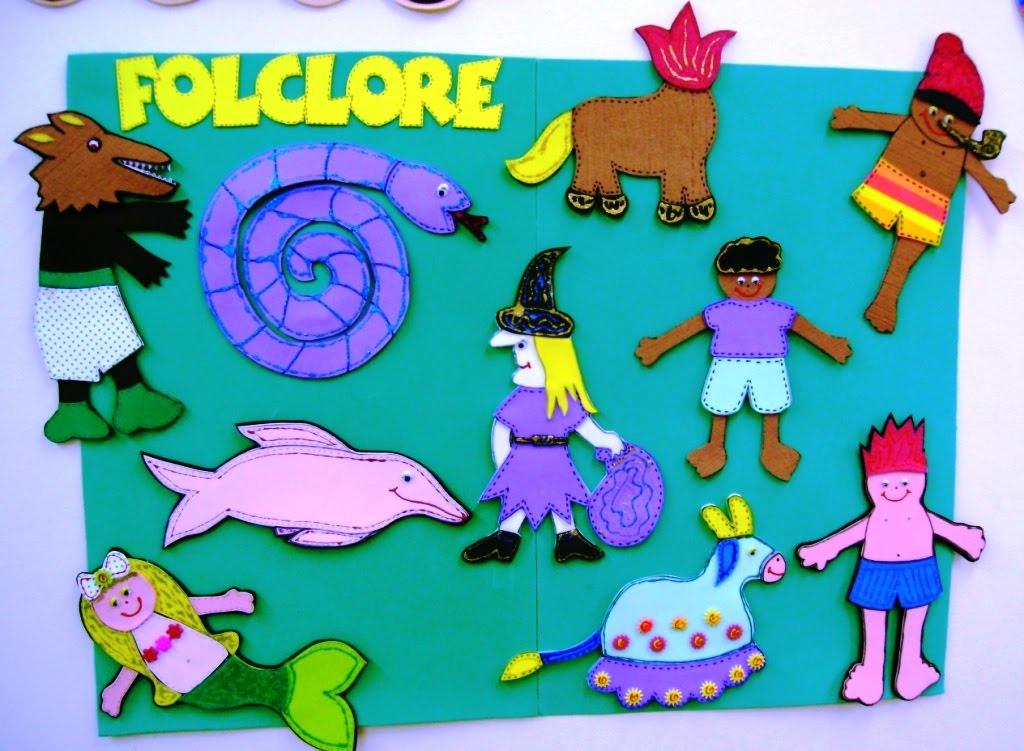 Painel Dia Do Folclore: MUNDINHO DA EDUCAÇÃO INFANTIL: Painel FOLCLORE