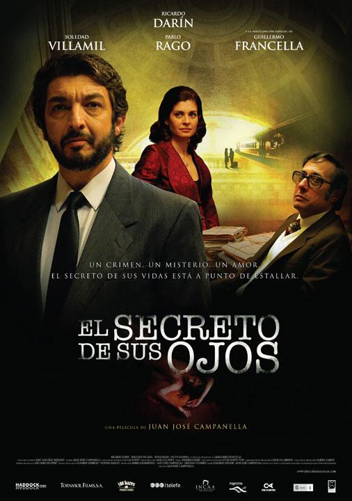 Cine 9009 el secreto de sus ojos 2009 for Banda sonora de el jardin secreto