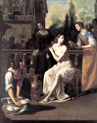 Resultado de imagen de el rey david y betsabe y la pintura