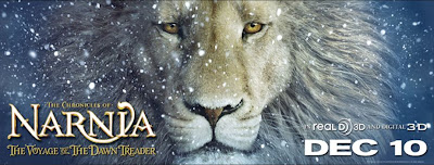 Aslan the lion - The Voyage of the Dawn Treader Movie
