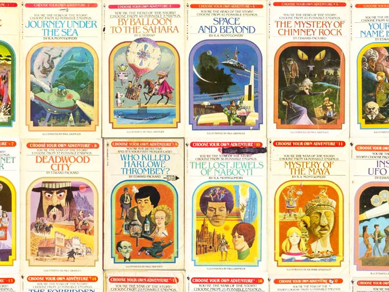 writing a choose your own adventure story