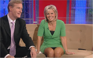 Gretchen carlson and upskirt