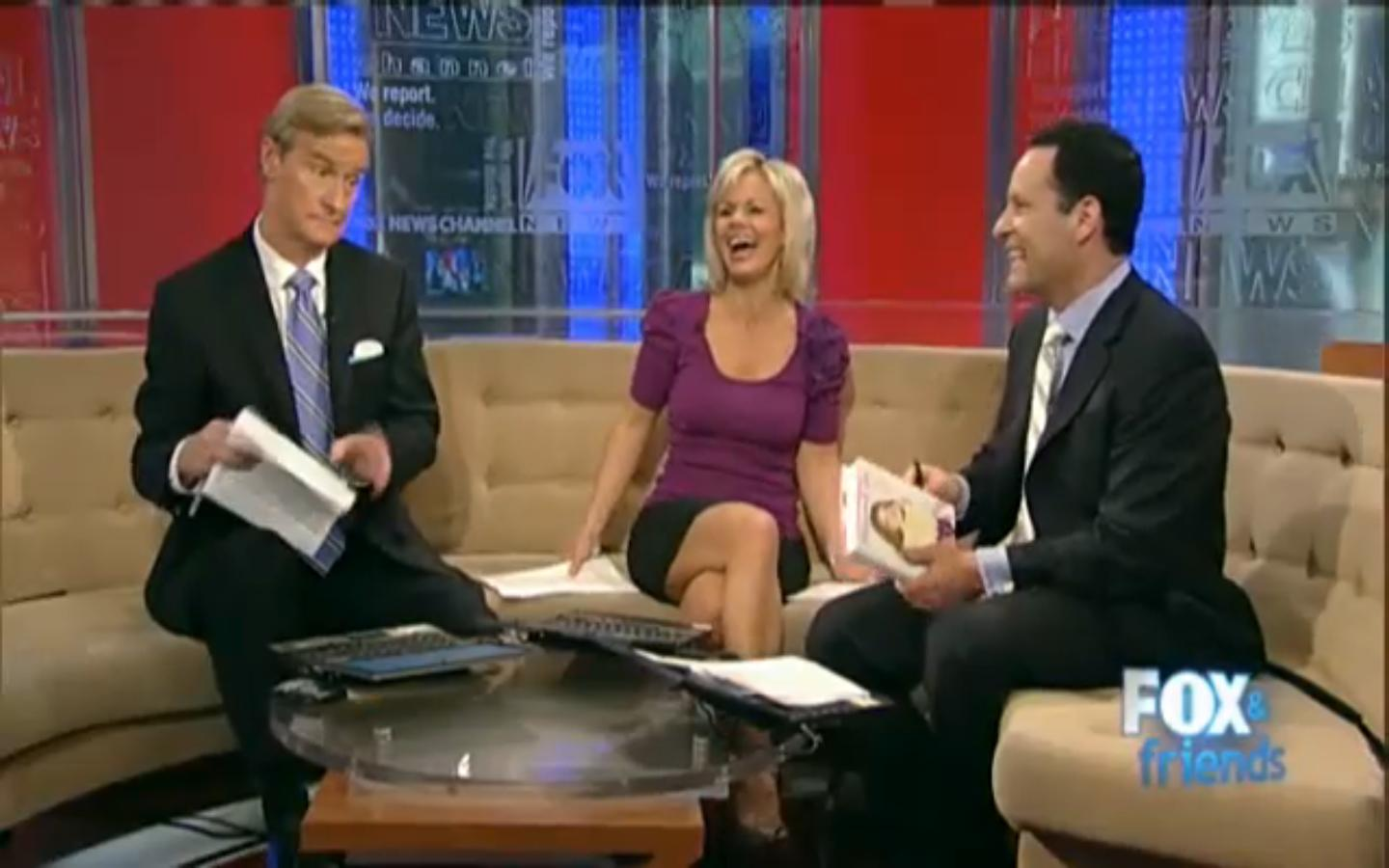 Fox News In The Morning Two Guys In Business Suits One
