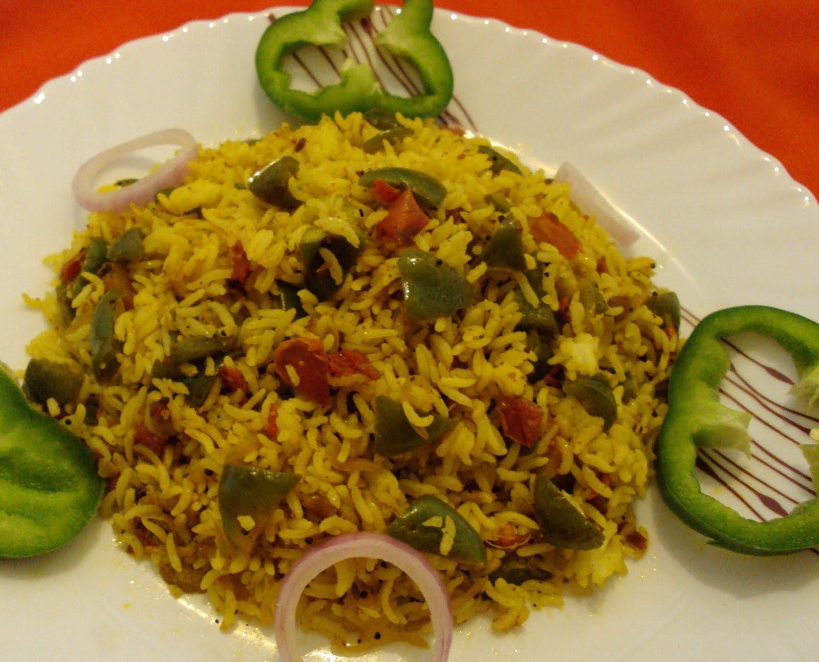 Image result for Capsicum Rice