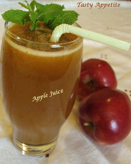 Apple Juice / Fresh Juice Recipes / Summer Recipes
