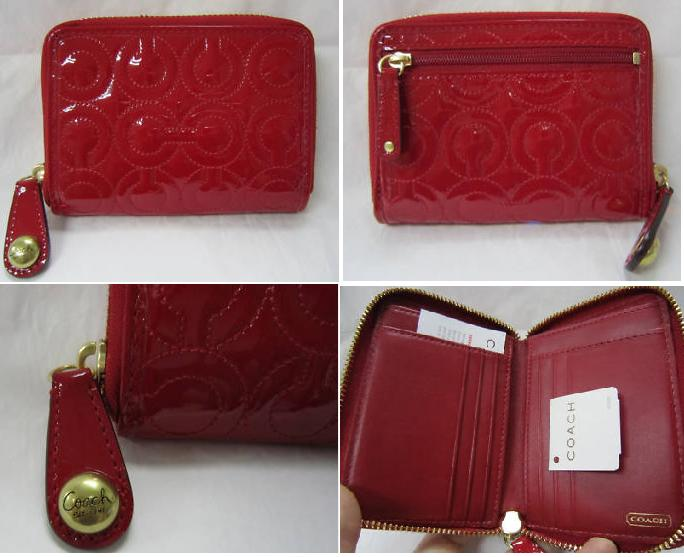 e3607b449a9f Miss Elegant 1961  100% Authentic! COACH Gramercy Patent Embossed ...