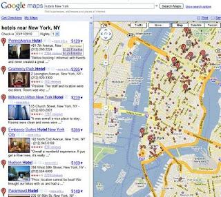 Hotel Price Listings on Google Maps - Google the next big OTA? - UP