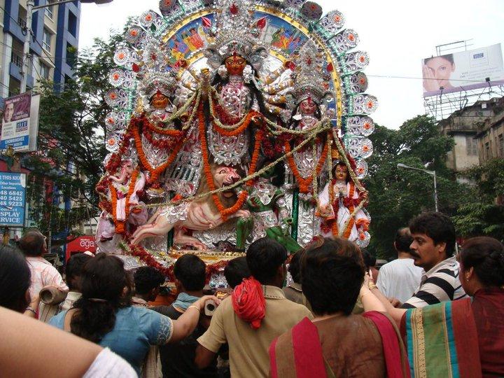 Mallick Bari Bhawanipur durga puja