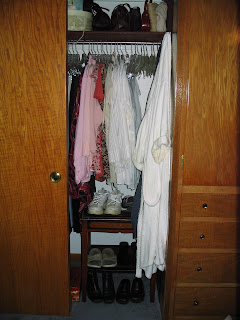 Organized Bedroom Closet