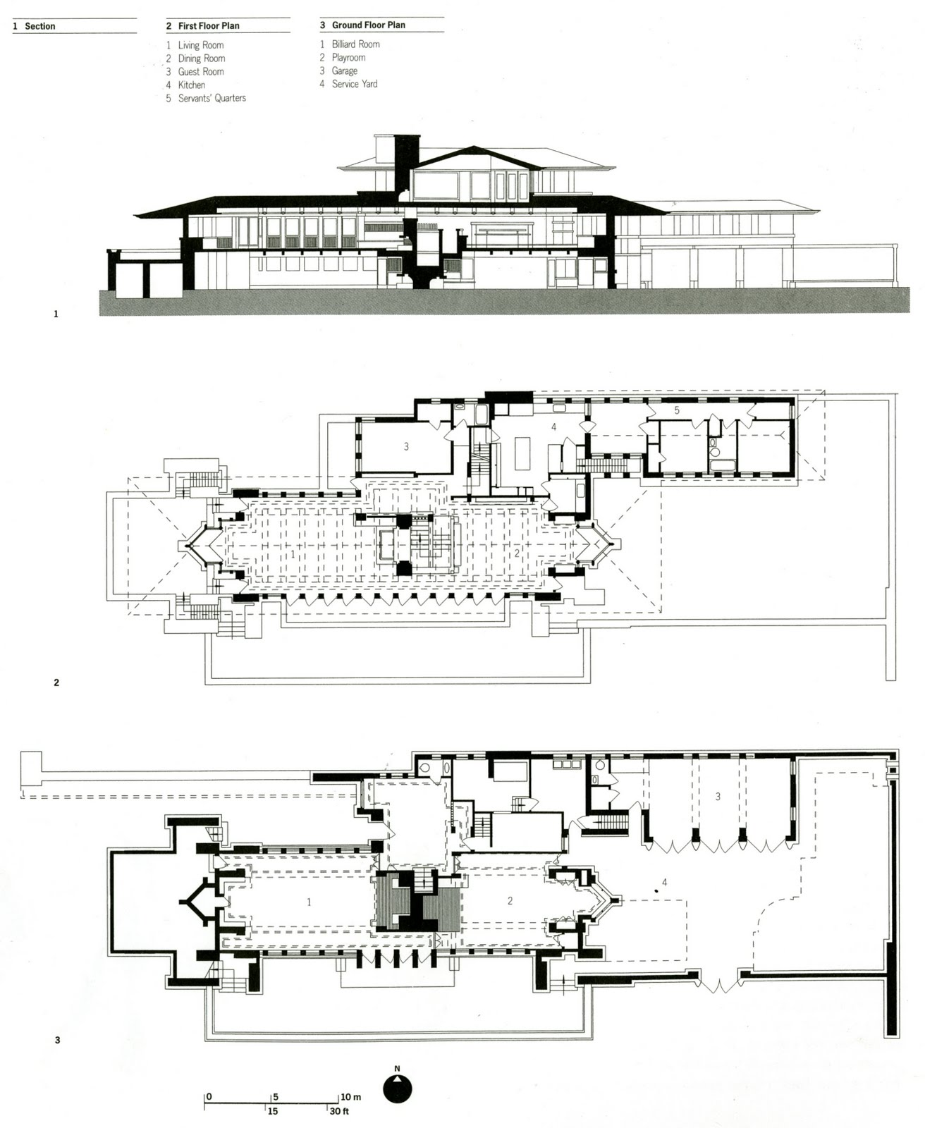 Usonian miller house plan by flw besides Frfalling Waters in addition 30505 together with Architectural Planning besides Falling Water Plan. on frank lloyd wright home plans
