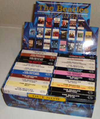 UK Beatles singles collection cassingles