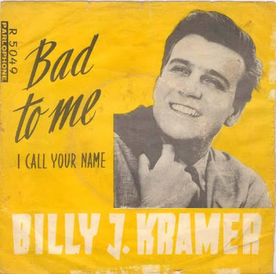 Norwegian edition of Bad To Me by Billy J Kramer