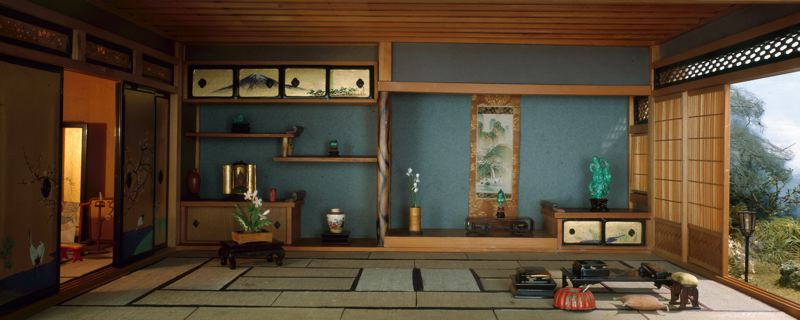 Rooms: The Best Time Of The Day: Thorne Miniature Rooms