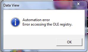 Visual Basic Automation Error