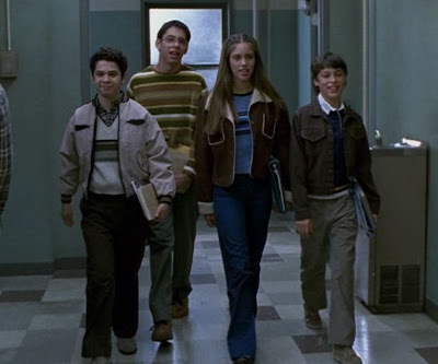 Kayla Ewell has been walking the halls of high school for ten years, since before she was Vicki on Vampire Diaries, she played a student on Freaks and Geeks.