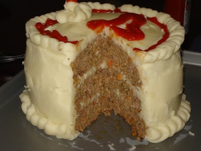 Meat Loaf Birthday Cake