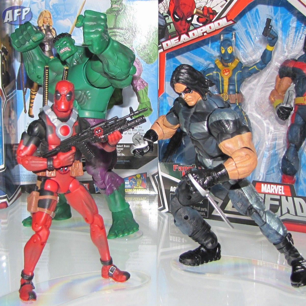 Sdcc 2010 Possible Deadpool X Men Costume Variant Marvel Legends
