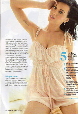 Katy Perry Cosmopolitan Hungary December 2010