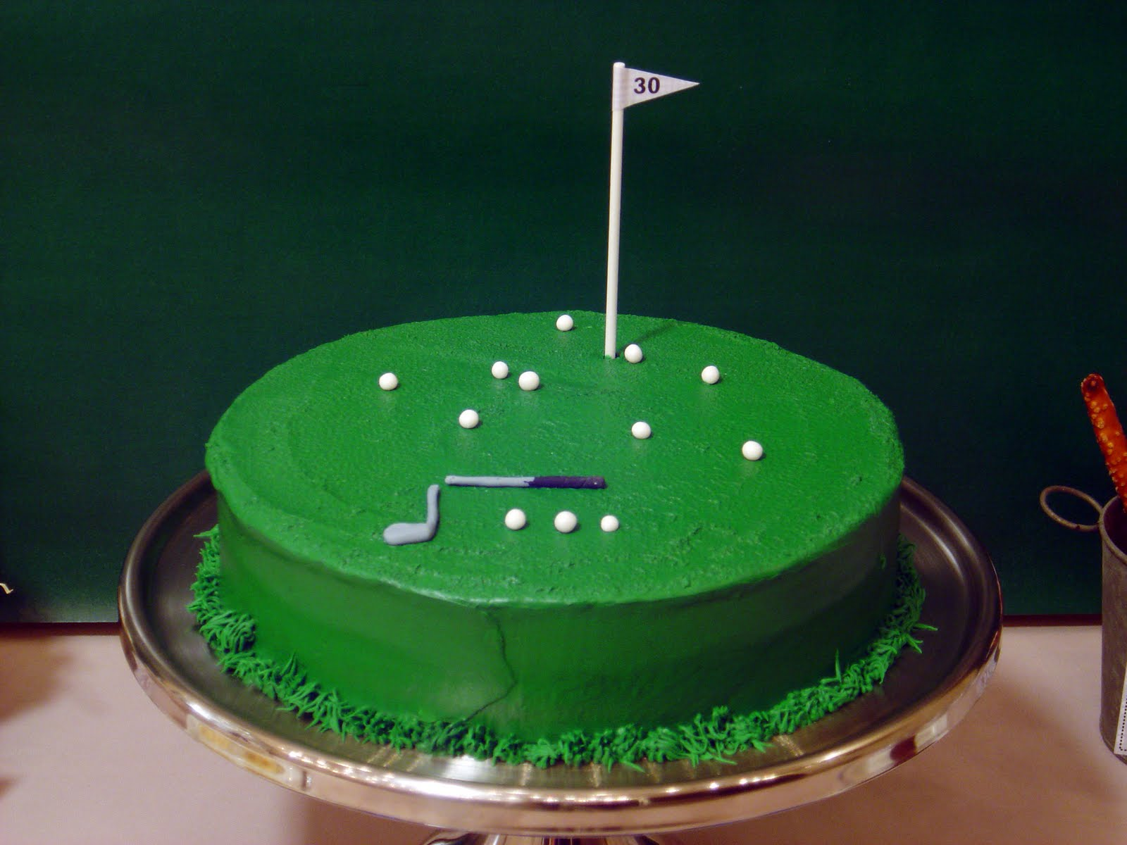 Cake Creative Co Real Parties A Hole In One Golfing Party