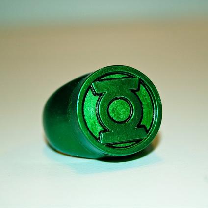Comic world: Green Lantern Rings
