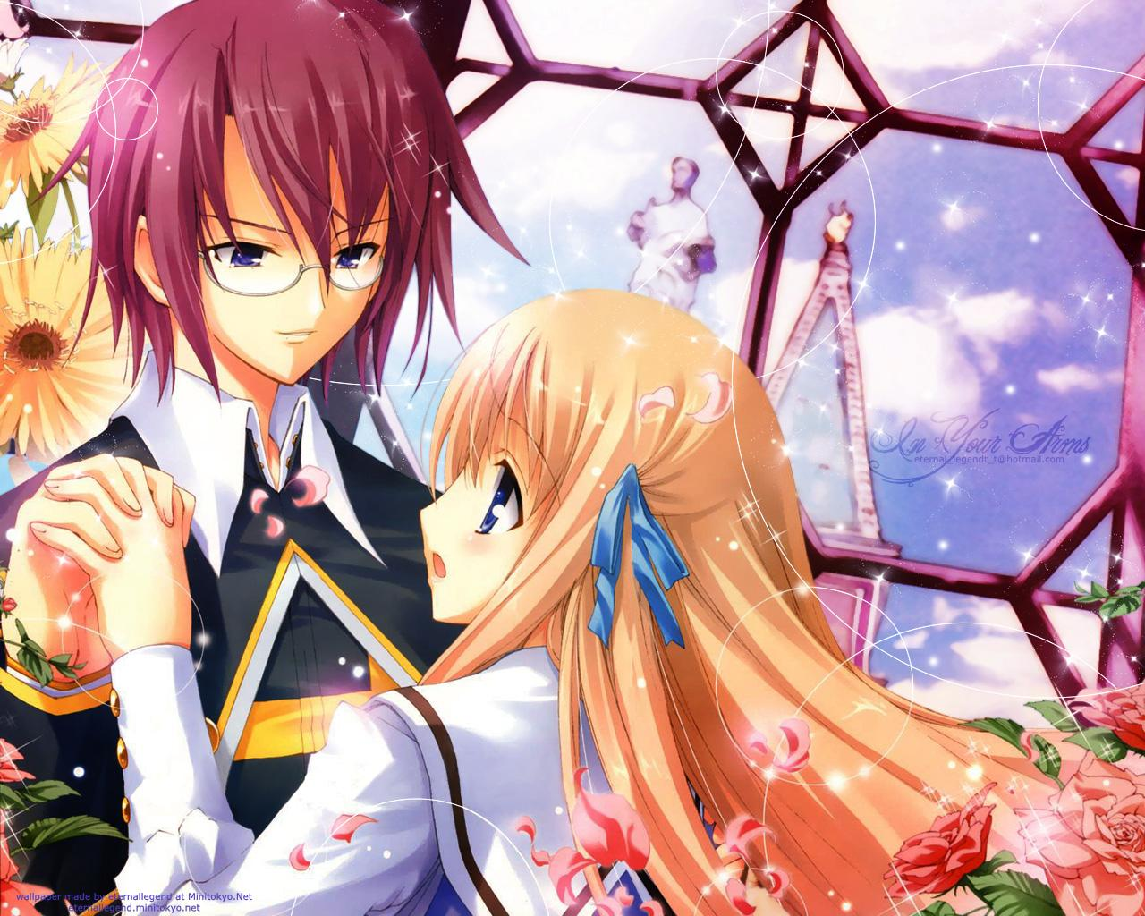 Cute Kc Name Laptop Wallpaper The World Of Anime The Favorite Couple An Eternal Love