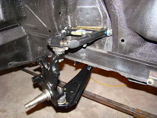 1968 Mustang Fastback Restoration Build Front Suspension