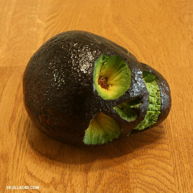 179. Avocado Skull