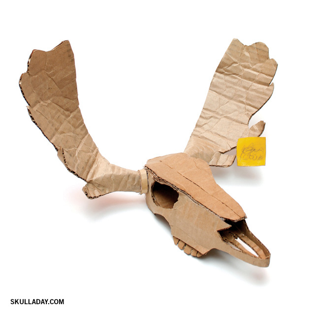 Bonus 377 Cardboard Moose Skull