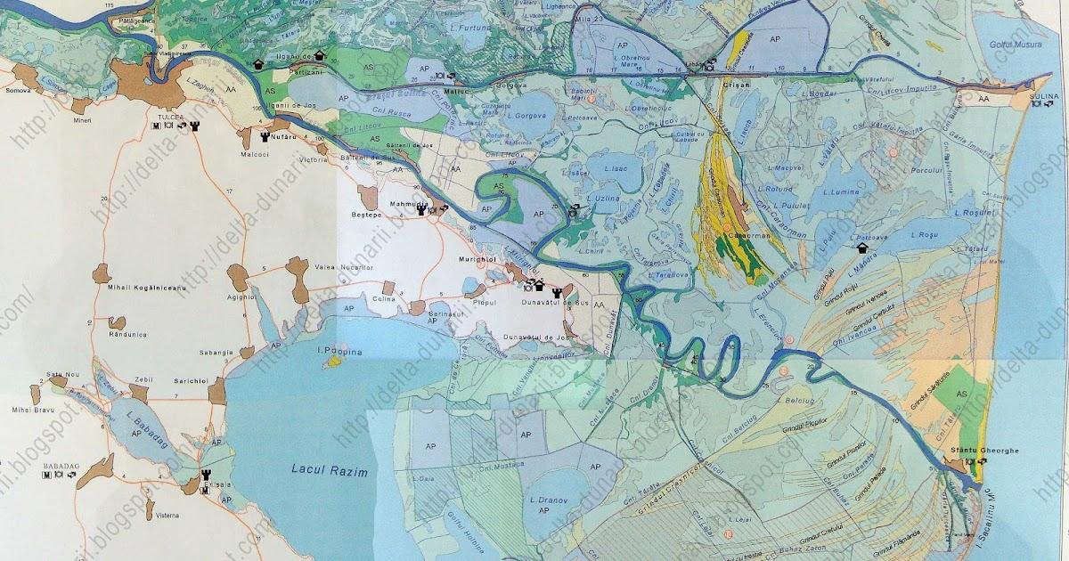 Harta Harta Tulcea Satelit