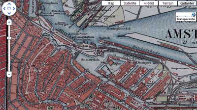 maps mania dutch historical maps on google maps