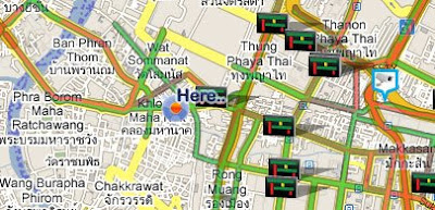 Maps Mania: Google Maps of Bangkok Traffic on google live traffic, blog traffic, mobile traffic, sms traffic, google map hong kong, apple maps traffic, google navigation traffic, nokia maps traffic, maps and traffic, google map color key, google map pin, social media traffic, maps driving directions traffic, google mspd, skype traffic, google search traffic, ted williams tunnel traffic, map directions with traffic, web traffic,