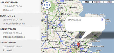 Maps Mania: Tracking Your Package with Google Maps