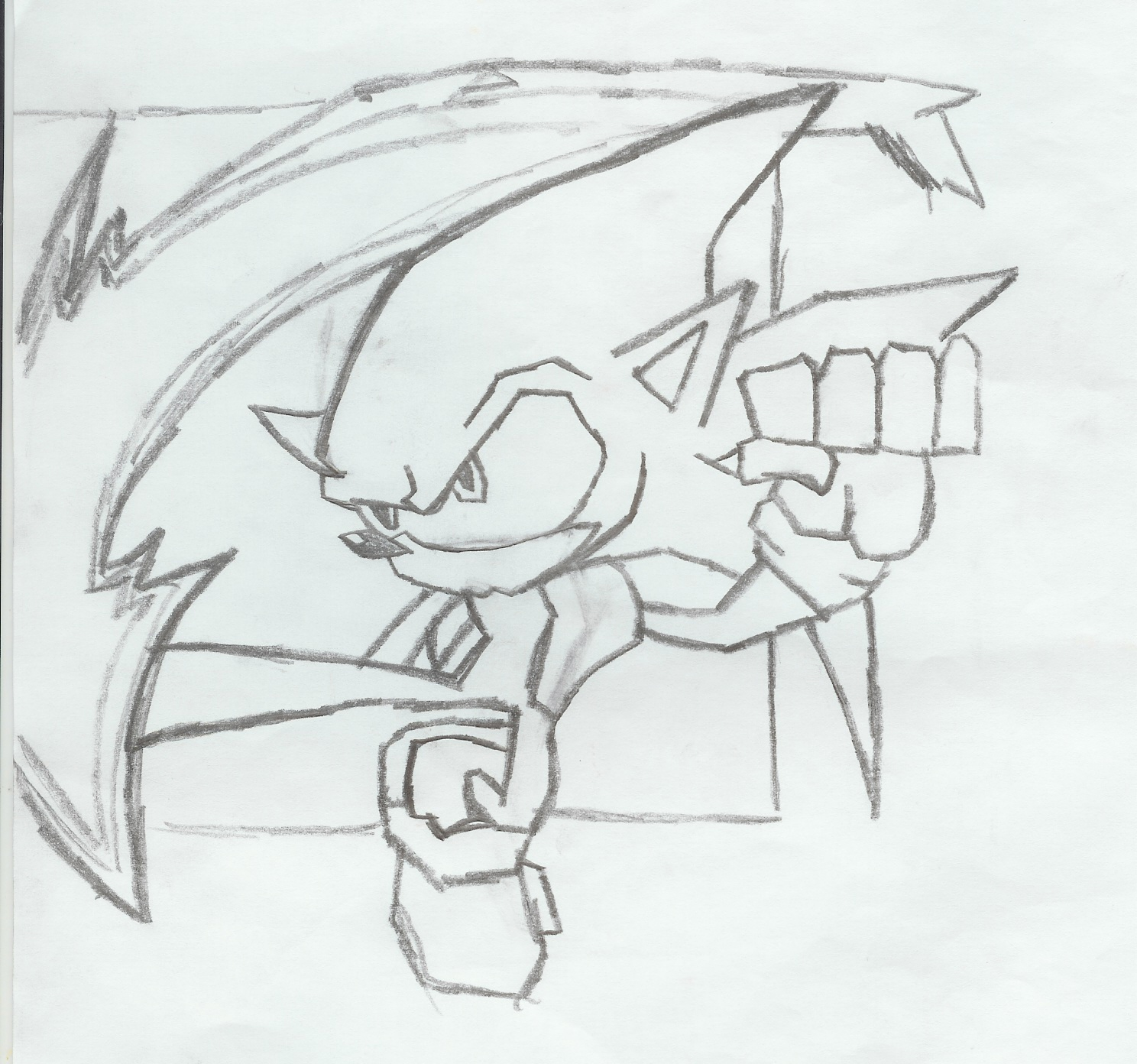 ANDREW'S UNIVERSE: Sonic Drawings