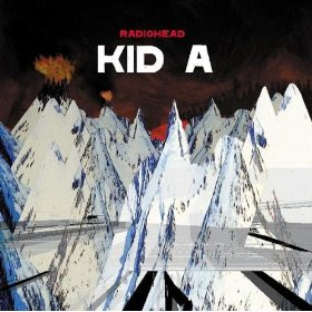Radiohead - Kid A (album cover)