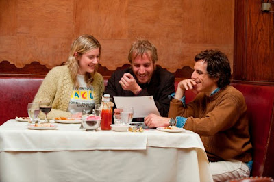 Greta Gerwing, Rhys Ifans and Ben Stiller in Greenberg (Photo credit: Wilson Webb)