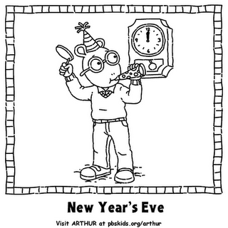 new years countdown coloring pages - photo#24