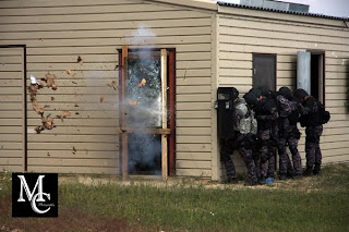 Swat-Tactical Training at Volk Field   Michael Cullen