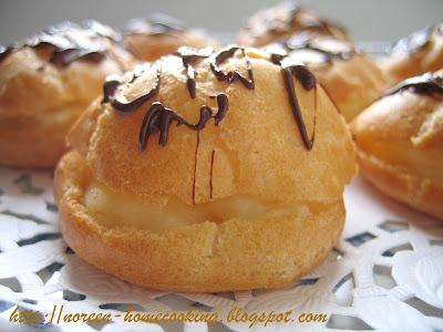 my home cooking blog: Cream puff resepi II