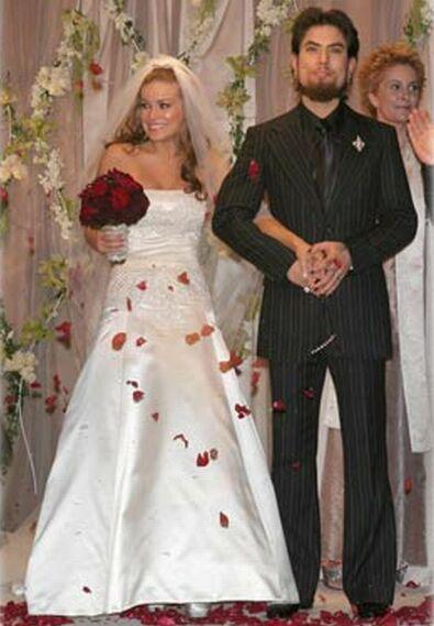 Travis Barker Shanna Moakler Wedding