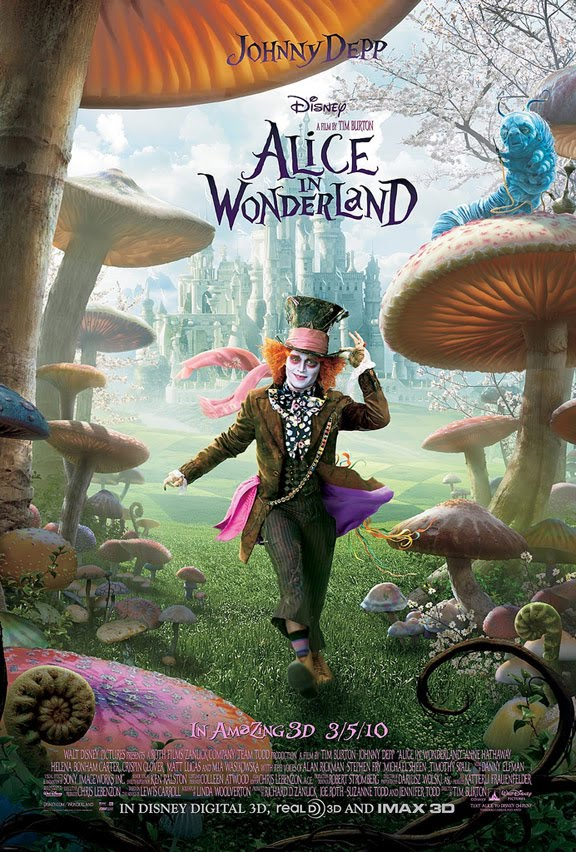 Alice In Wonderland New Movie Posters