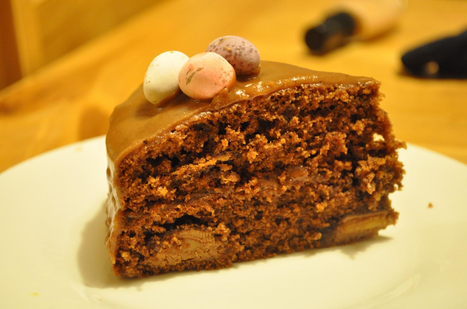 Choca Mocha Caramel Cake Recipe