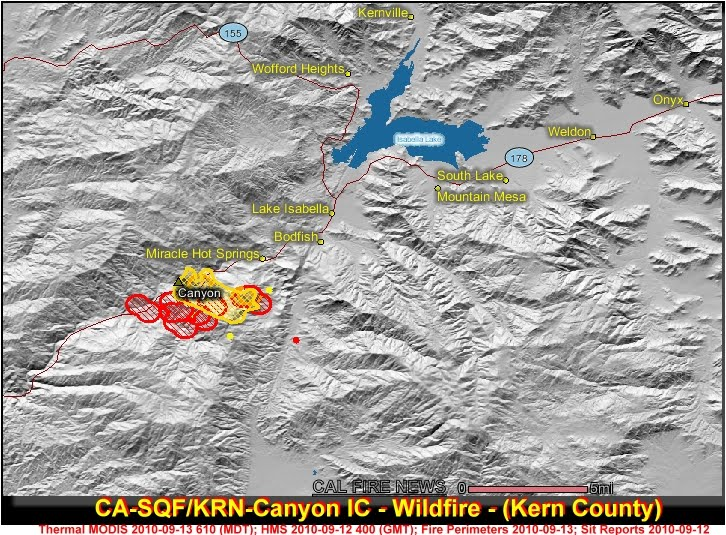 Lake Isabella Fire Map.Cfn California Fire News Cal Fire News Updated Canyon Ic