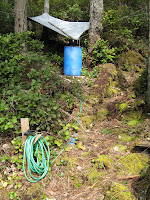 Powell River Books Blog: Rain Barrel Water Collection System
