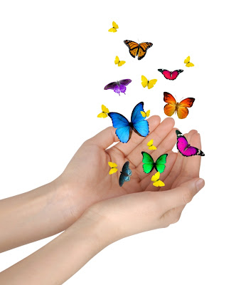 Resultat d'imatges de gracias y mariposas