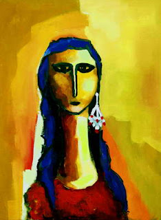Painting by Tagreed Al Bagshi