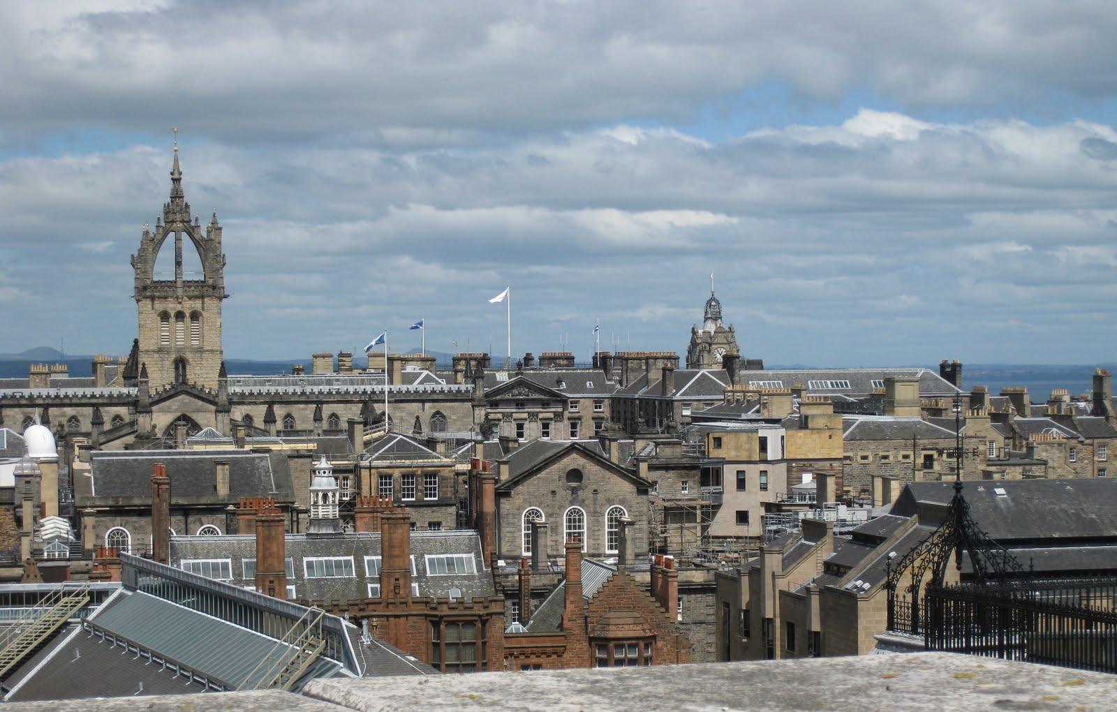 European Adventures: Edinburgh--Still Here