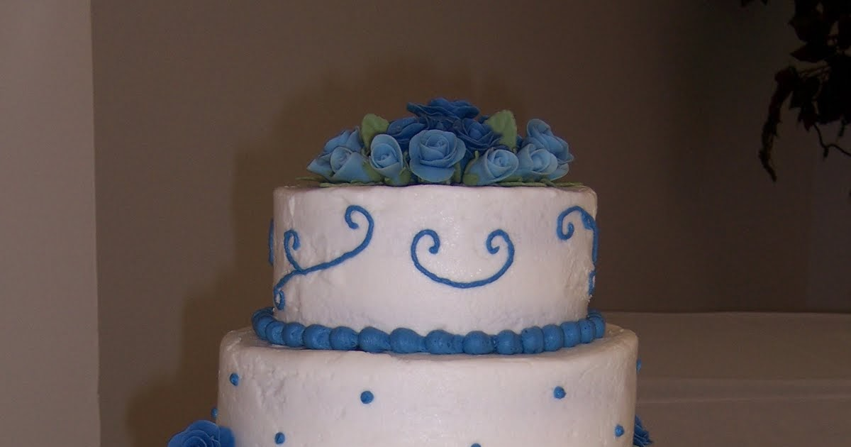 Cakes Candies Amp Cookies Oh My First Wedding Cake Ever