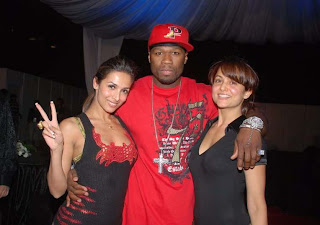 50 CENT GETTING COSY WITH AMRITA ARORA AND MALAIKA ARORA KHAN